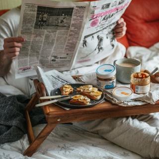 Арахисовая паста спорт на завтрак