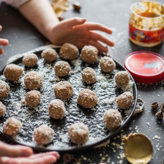 Арахисовая паста рецепт конфет