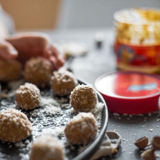 Рецепт конфет с арахисовой пастой
